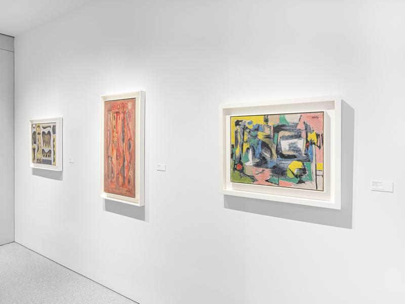 Installation Views - Distinctive/Instinctive: Postwar Abstract Painting - February 20 – April 10, 2021 - Exhibitions