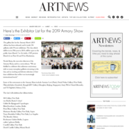 ARTnews, November 26, 2018