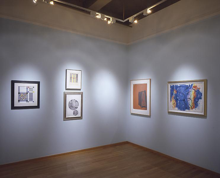 Installation Views - 1950 - 1965: Abstraction on Paper - September 13 – November 3, 2001 - Exhibitions