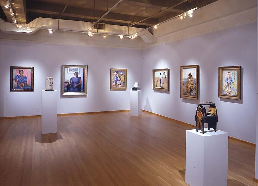 Installation Views - African-American Art: 20th Century Masterworks, IX - January 17 – March 9, 2002 - Exhibitions