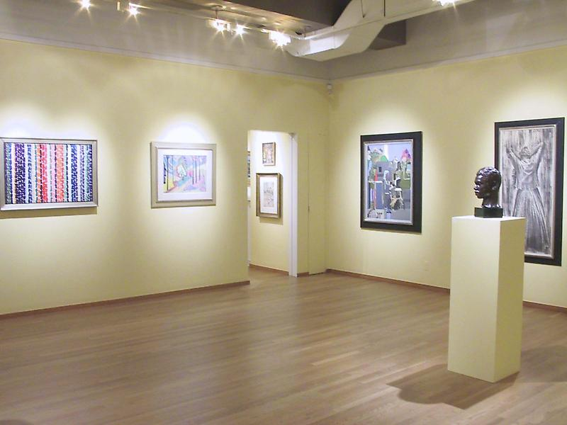 Installation Views - African-American Art: 20th Century Masterworks, X - January 17 – March 8, 2003 - Exhibitions