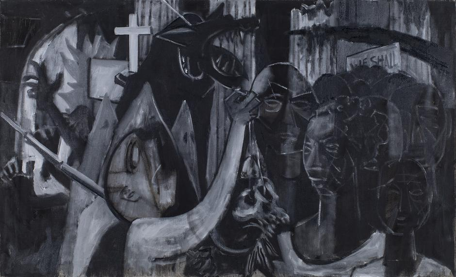 Charles Alston (1907-1977) Untitled (Civil Rights...