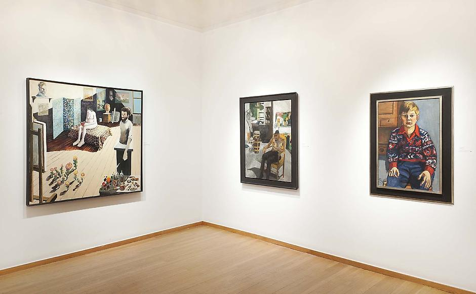 Installation Views - Benny Andrews, Alice Neel, Bob Thompson - January 28 – April 7, 2012 - Exhibitions