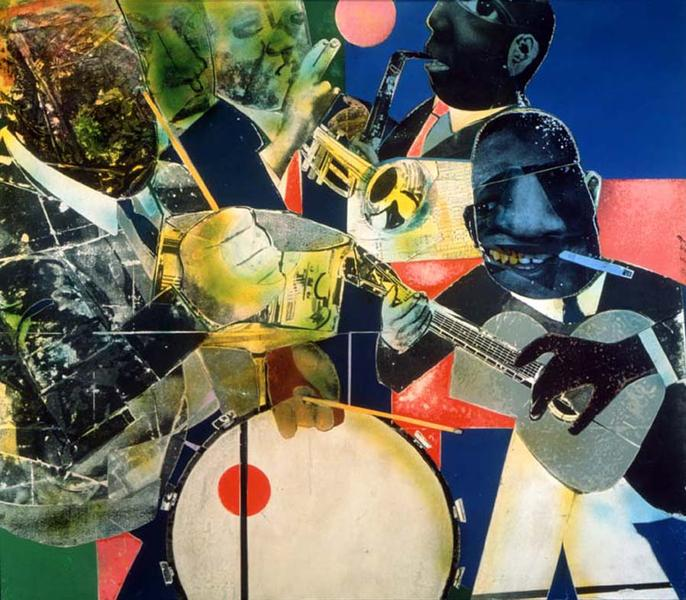 Romare Bearden (1911–1988) Of the Blues: Kan...
