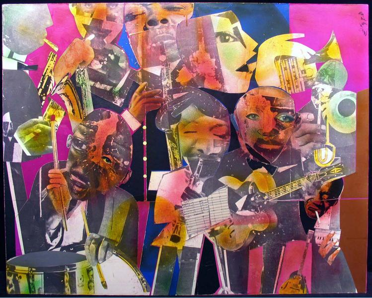 Romare Bearden (1911–1988) The Savoy, 1975 m...