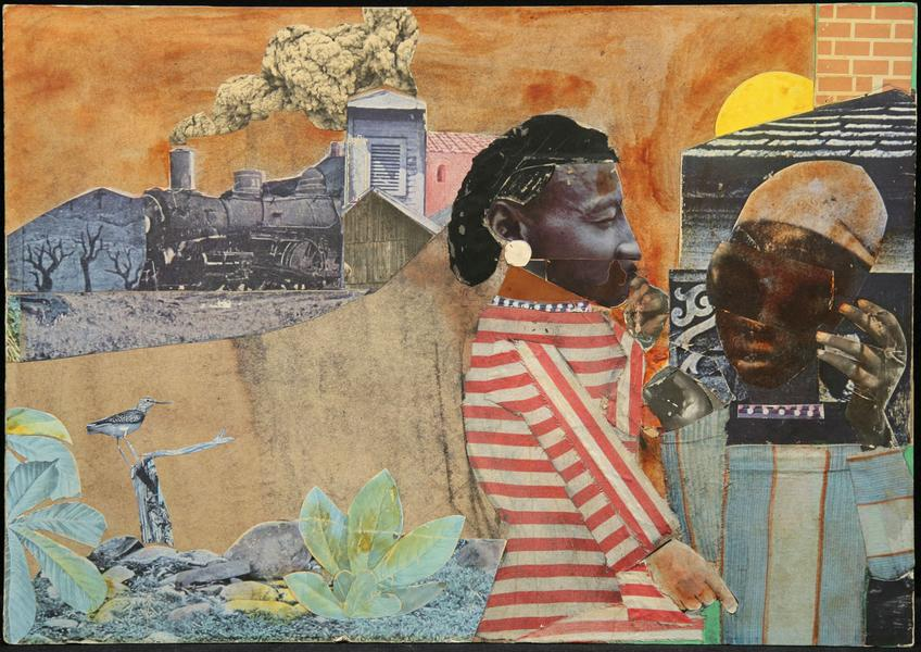 Romare Bearden (1911–1988) Sunset Limited, 1...
