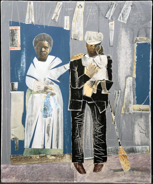 Romare Bearden (1911–1988) Untitled (The Fam...