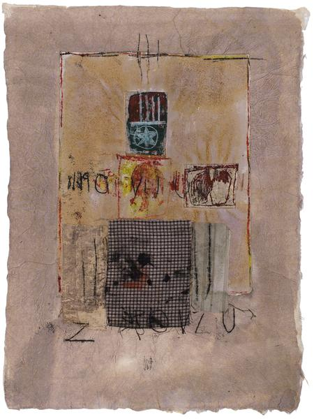 Untitled (C80057), 1980 mixed media collage with f...