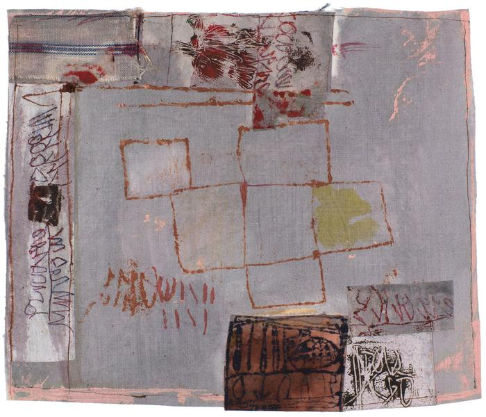 Untitled (C81041), 1981 mixed media collage with f...