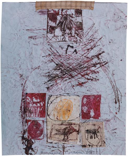 Untitled (C81186), 1981 mixed media collage with f...