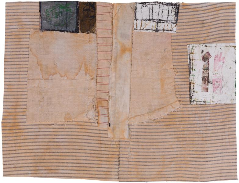 Untitled (C81245), 1981 mixed media collage with f...