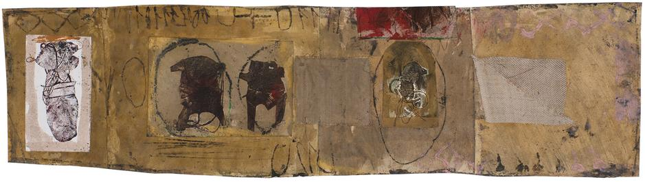 Untitled (C81257), 1981 mixed media collage with p...