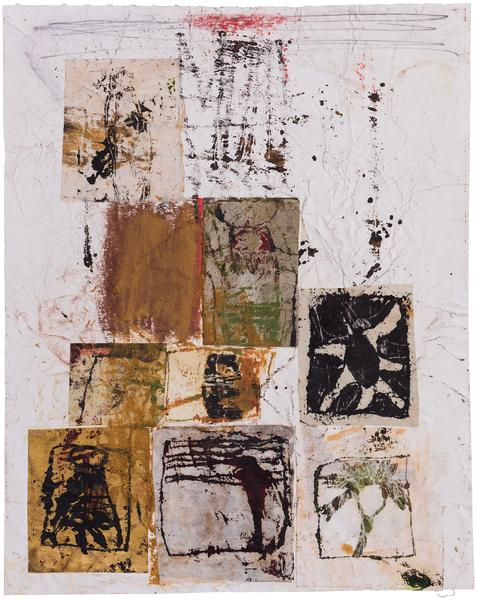 Untitled (C83138), 1983 mixed media collage with p...
