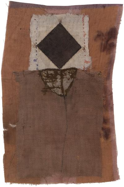 Untitled (C85107), 1985 mixed media collage with f...