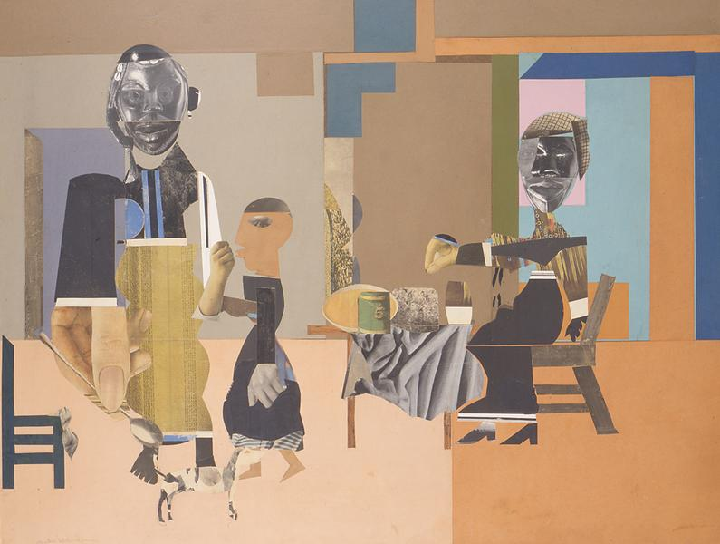 Romare Bearden (1911–1988) Illusionists at 4...