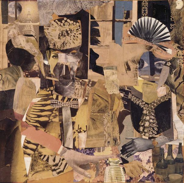 Romare Bearden (1911–1988) King and Queen of...