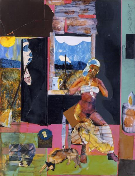 Romare Bearden (1911–1988) Morning Train to...