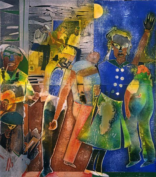 Romare Bearden (1911–1988) Of the Blues: Mec...