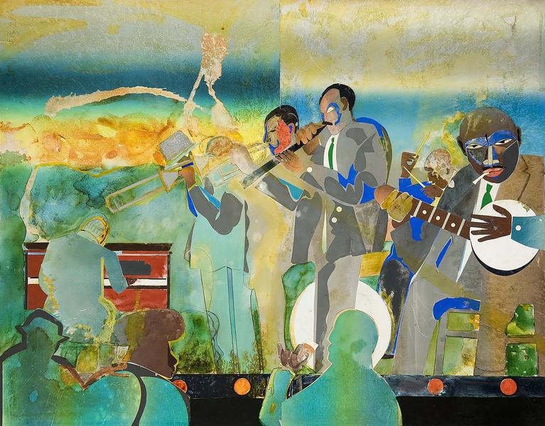 Romare Bearden (1911–1988) Profile/Part II,...