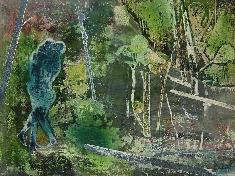 Romare Bearden (1911–1988) The Rain Forest:...
