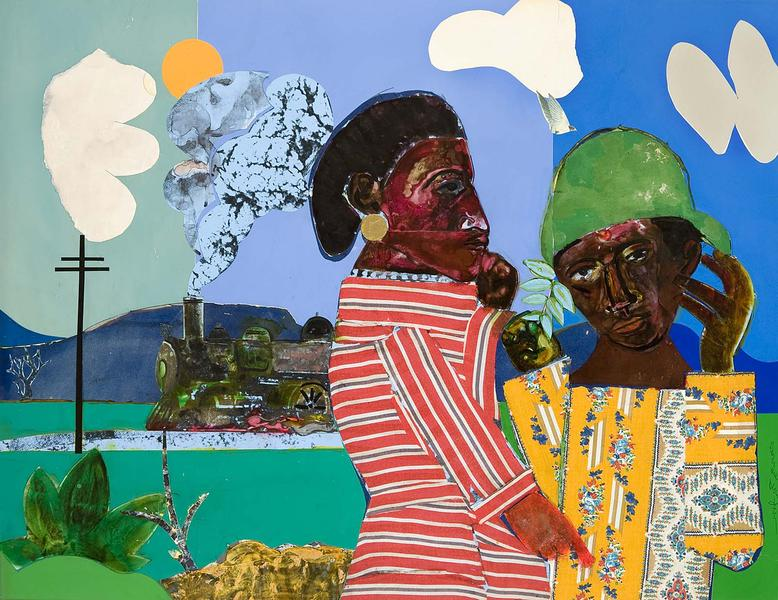 Romare Bearden (1911–1988) The Train Whistle...