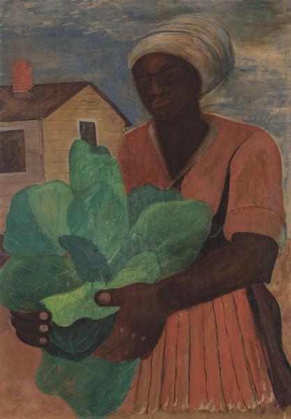 Romare Bearden (1911-1988) Untitled (Harvesting To...