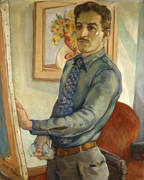 Aaron Berkman (1900–1991) Self-Portrait, c.1...