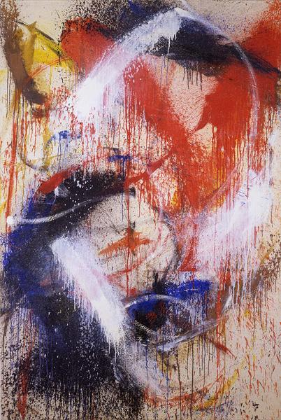 Vodka, 1960 Oil on canvas  77 x 51 inches sig...