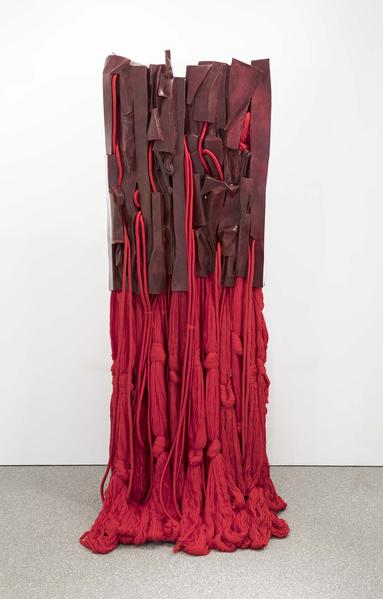 Barbara Chase-Riboud Malcolm X #16, 2016 bronze wi...