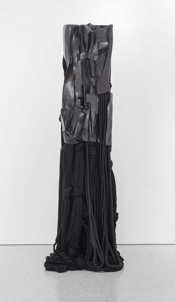 Barbara Chase-Riboud Malcolm X #9, 2007 bronze wit...