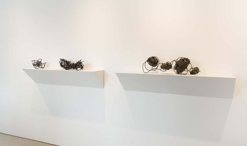 Installation Views - Claire Falkenstein: A Selection of Works from 1955-1975 - January 23 – March 19, 2016 - Exhibitions