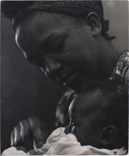 Roy DeCarava (1919-2009) Untitled (Mother and Chil...