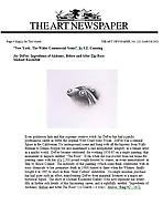 The Art Newspaper, March 2002