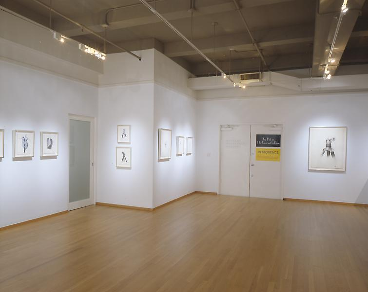 Installation Views - Jay DeFeo: Her Tripod and Its Dress - November 6, 2003 – January 10, 2004 - Exhibitions