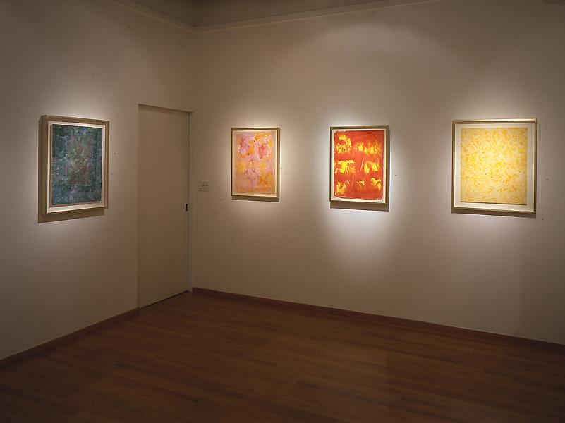 Installation Views - Beauford Delaney: Liquid Light, Paris Abstractions, 1954-1970 - September 10 – October 30, 1999 - Exhibitions