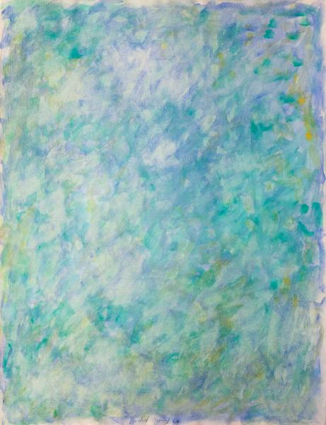 Beauford Delaney (1901-1979) Untitled, 1960 gouach...