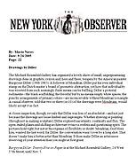 New York Observer, September 26, 2005