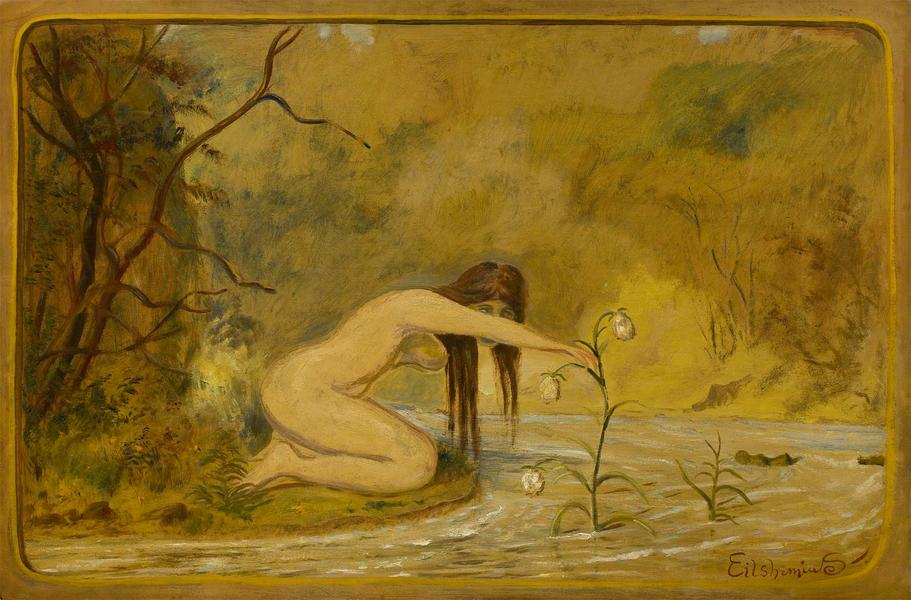 Louis M. Eilshemius (1864-1941) Untitled (Nymph an...