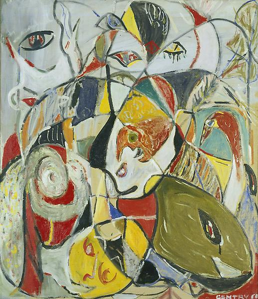 Composition No. 316, 1958 oil on canvas 39 3/8&quo...