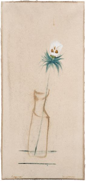 Bouquet, c.1950 tempera and watercolor on paper 16...