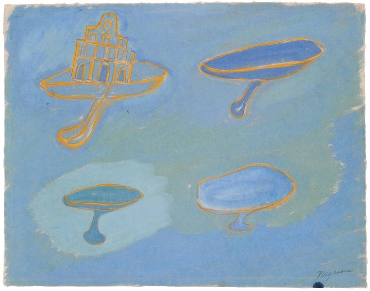 Church and Chalices, 1939 watercolor on paper 12 1...