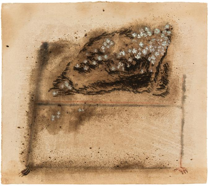 Untitled, c.1950 tempera and watercolor on paper 1...