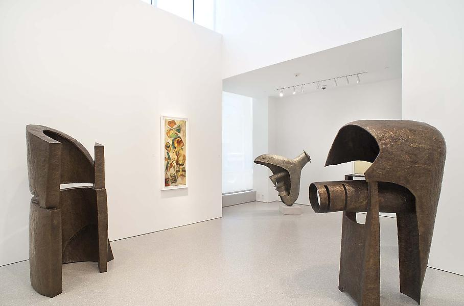 Installation Views - Abstract Expressionism In Context: Seymour Lipton - June 1 – August 2, 2013 - Exhibitions