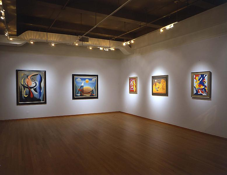 Installation Views - Breaking Boundaries: American Abstract Art, 1930 - 1945 - September 10 – October 30, 2004 - Exhibitions