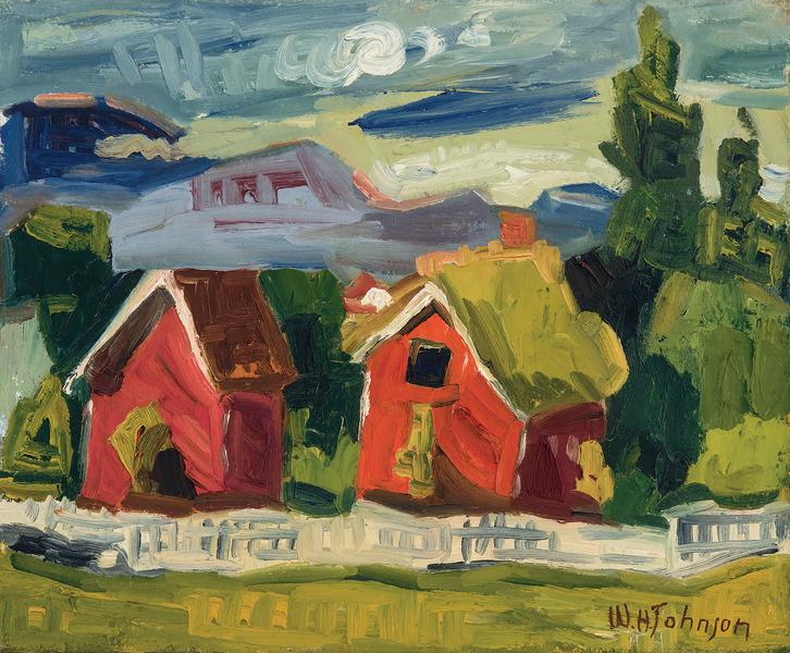 William H. Johnson (1901–1970) Untitled (Two...