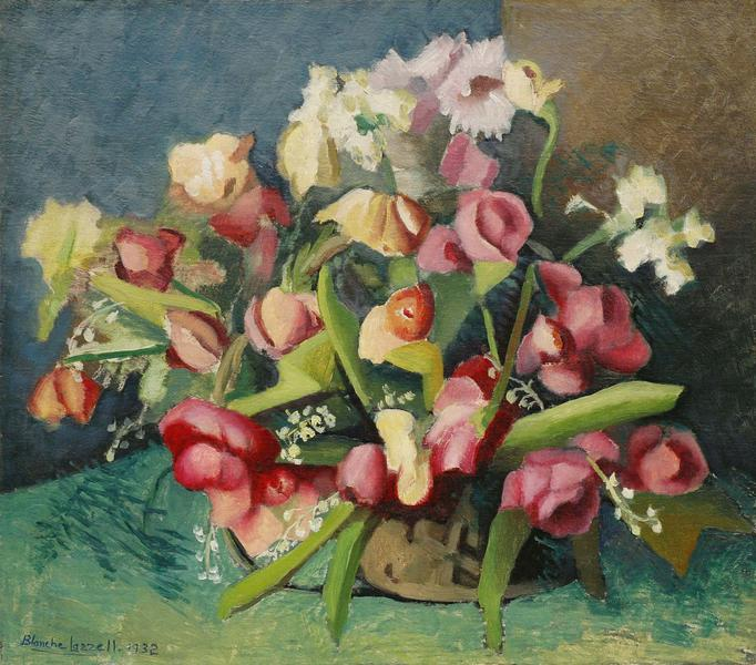 Some Flowers from Cornelius Ridgway's, 1932 oi...