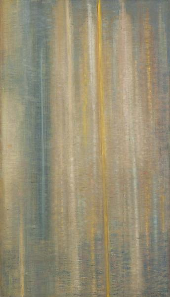 "Counterpoint, 1957 oil on canvas 72"" x 41 1/4..."