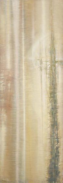 Trajectory of Dawn, c.1957 oil on canvas 70 1/2 x...