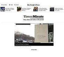 The New York Times, Times Minute