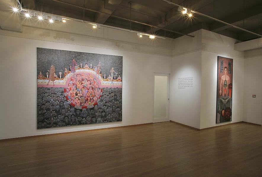 Installation Views - Irving Norman - October 30 – December 20, 2008 - Exhibitions